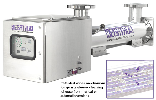 Megatron Ultraviolet Water Disinfection Purifiers