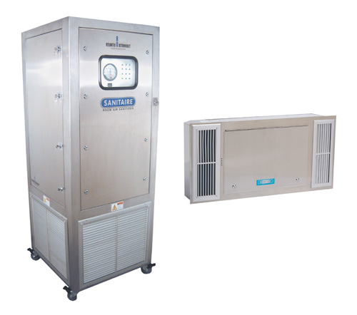 Sanitaire Ultraviolet Room Air Sanitizers Model RSM2680 Model RSCS280