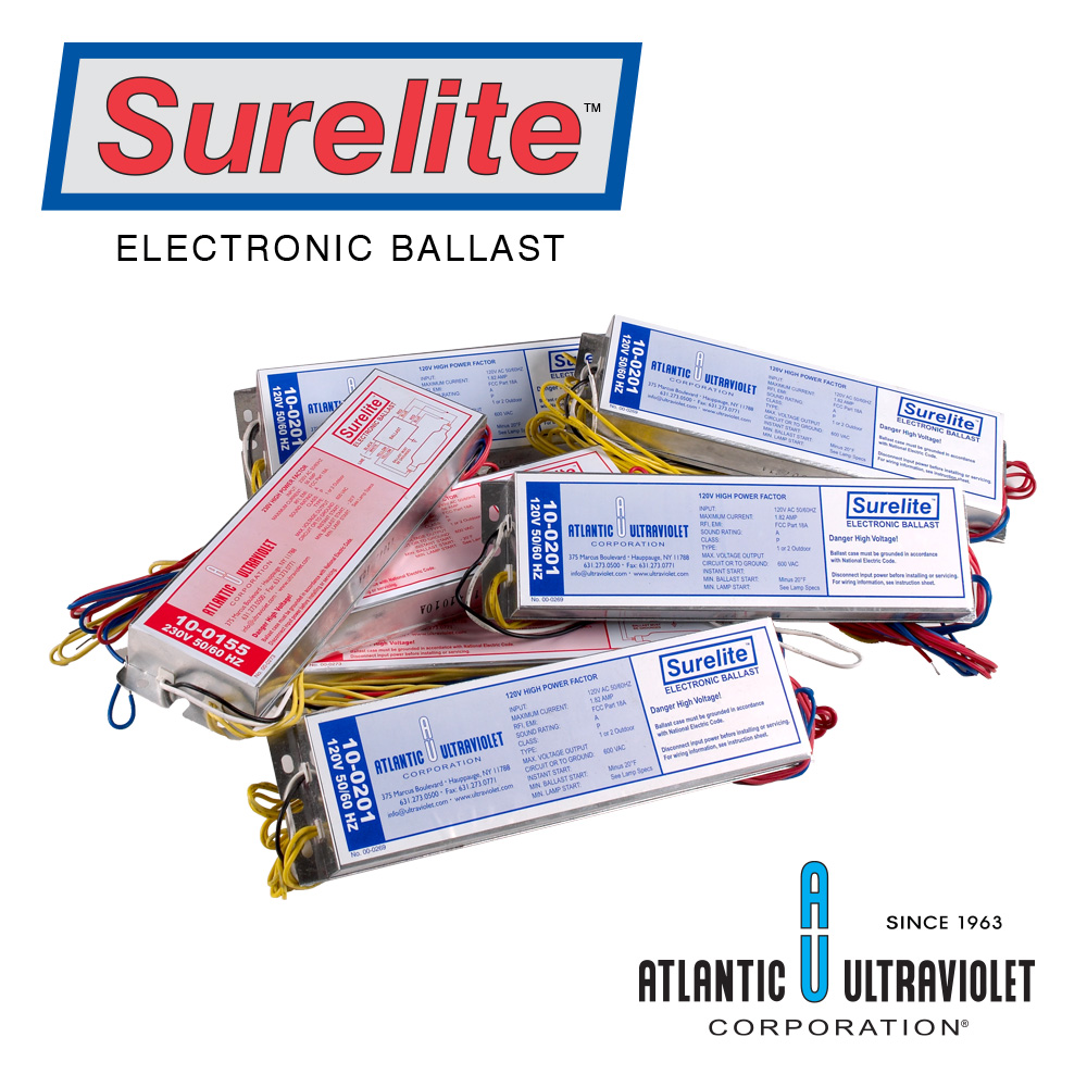 Surelite Electronic Ballasts For Uv Lamps Voltage Output Ballast Wiring Diagram 277v