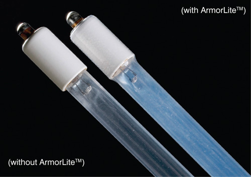 Armor Lite Safety Shield on Lamps