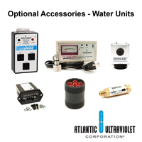 Optional Accessories Ultraviolet Water Units
