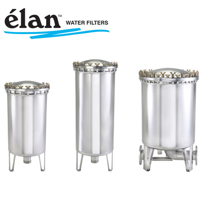 Élan stainless water filters