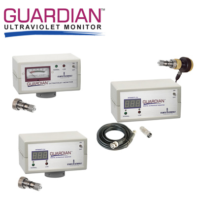 Guardian ultraviolet monitor