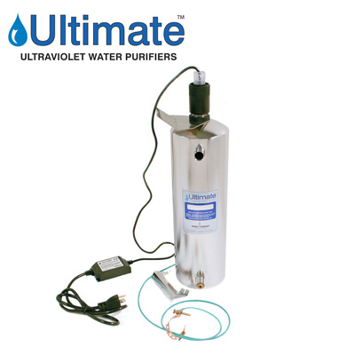 Ultimate ultraviolet water purifiers 4 - 15 GPM