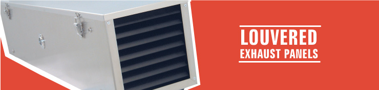 Louvered Exhaust Panels