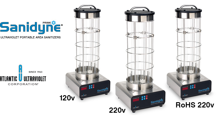 A photo of Sanidyne UV Portable Area Sanitizer Models