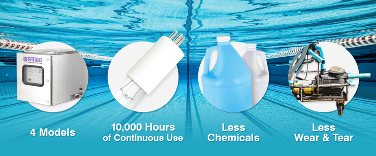 Ultraviolet Pool Disinfection has many economical features