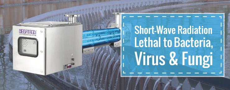 Short-Wave Radiation Lethal to Bacteria, Virus & Fungi