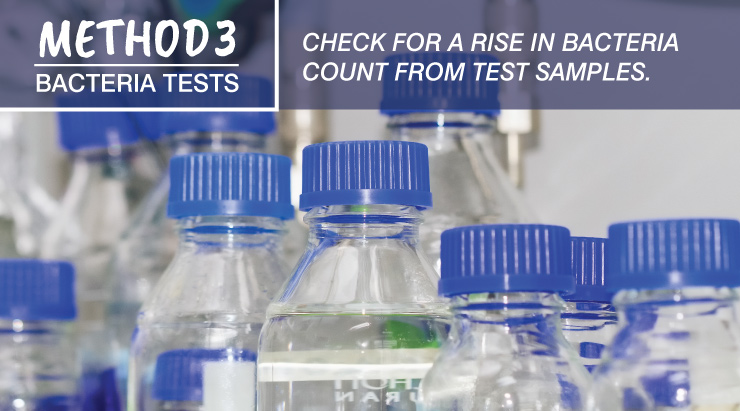 Method 3 - Bacteria Tests