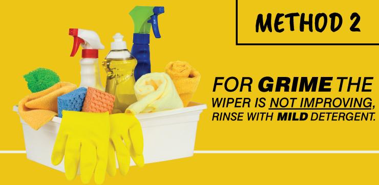 Method 2 - Rinse With Mild Detergent