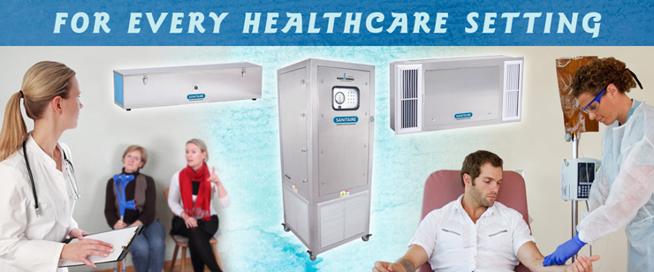 SANITAIRE Automatic UV Air Sanitization for Every Healthcare Setting