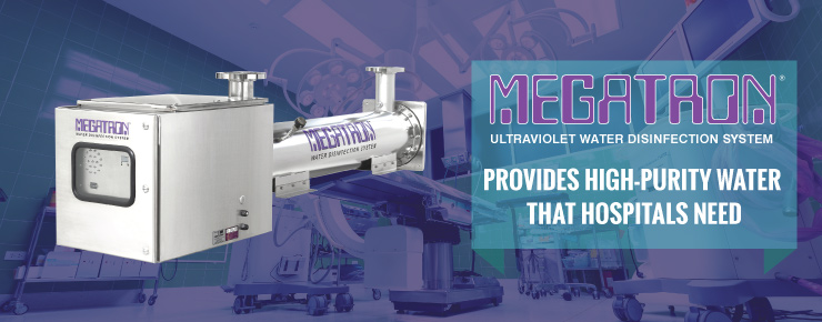 MEGATRON Provides High-Purity Water that Hospitals Need