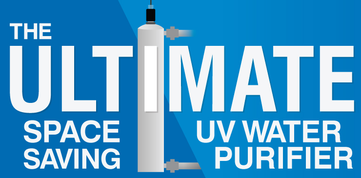 The Ultimate Space-Saving UV Water Purifier