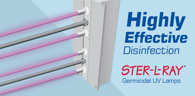 AeroLogic HVAC Duct Disinfection Uses Effective UV Lamps