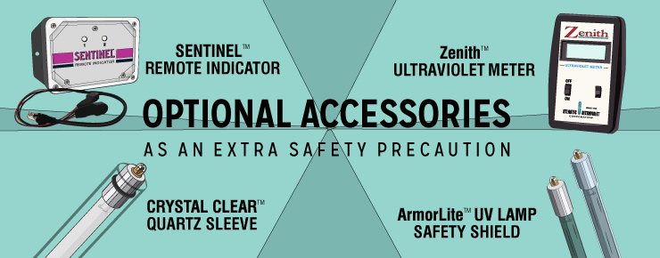 Optional Accessories as an Extra Safety Precaution for Air Duct Disinfection System