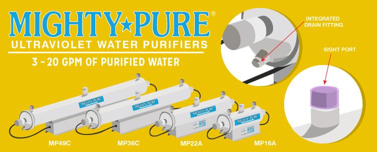MIGHTY PURE Ultraviolet Water Purifier