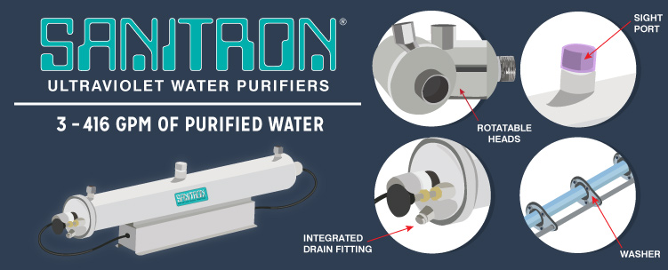 SANITRON Ultraviolet Water Purifier
