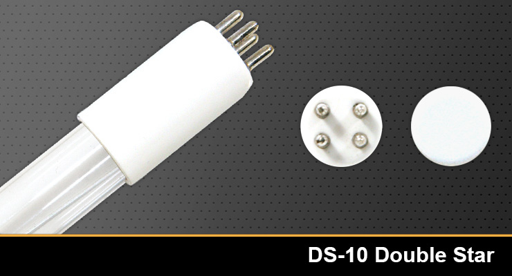 Ds 10 Double Star Equivalent Replacement Germicidal Uv Lamp