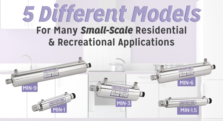 5 Different Models for Many Small-Scale Residential & Recreational Applications