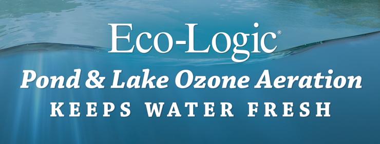 Eco-Logic Pond and Lake Ozone Aeration Keeps Water Fresh