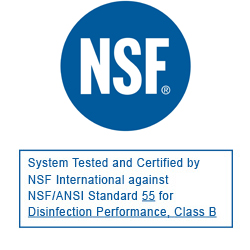 NSF Certified UV Water Purifier