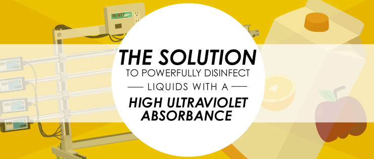 The Solution To Powerfully Disinfect Liquids With A High Ultraviolet Absorbance