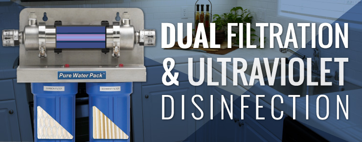 Dual Filtration & Ultraviolet Disinfection