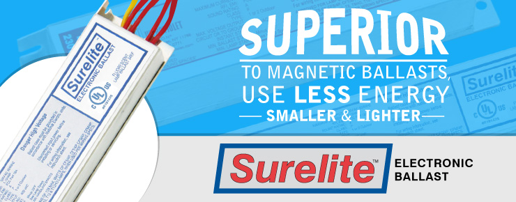 Superior To Magnetic Ballasts, Use Less Energy, Smaller & Lighter