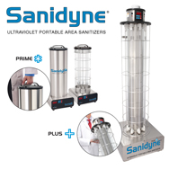 Sanidyne ultraviolet portable area sanitizer