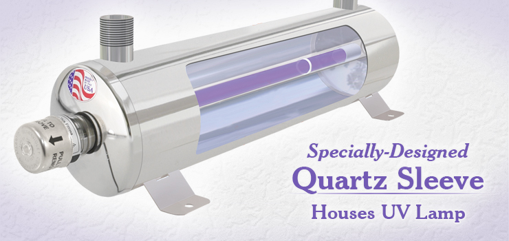 Minipure Quartz Sleeve Protects UV Lamp