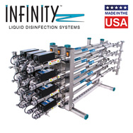 Infinity ultraviolet liquid disinfection .5 - 12 GPM
