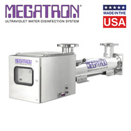 Megatron ultraviolet water disinfection 90 - 450 GPM