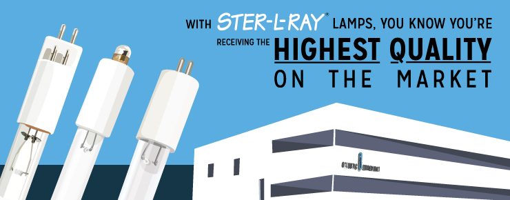 with STER-L_RAY Lamps, You Know You're Receiving the Highest Quality on the Market