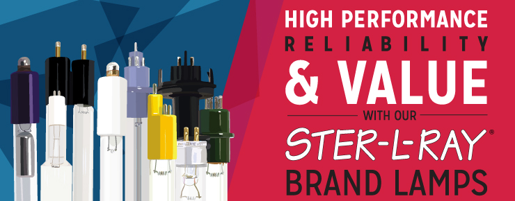 High Performance Reliability & Value with Our STER-L-RAY Brand Lamps