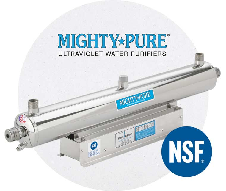 Mighty Pure Ultraviolet Water Purifiers