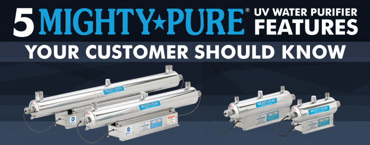 5 Mighty★Pure UV Water Purifier Features Your Customers Should Know