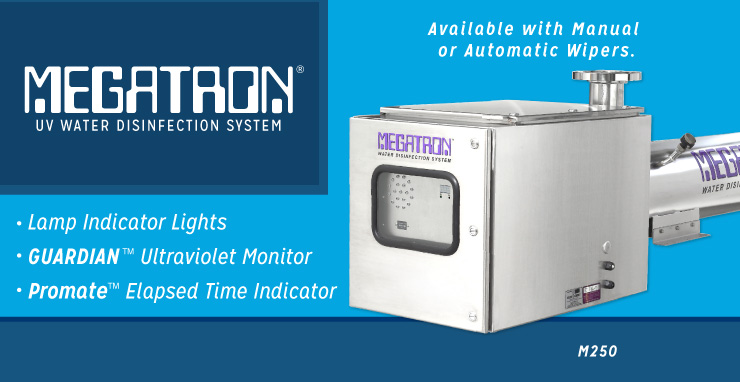 MEGATRON UV Water Disinfection System