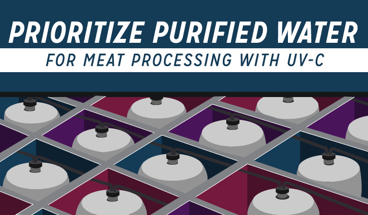 Prioritize Purified Water for Meat Processing with UV-C