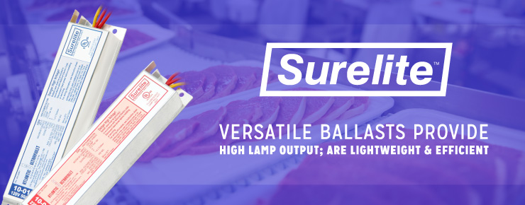 Versatile Ballasts Provide High Lamp Output; Are Lightweight & Efficient