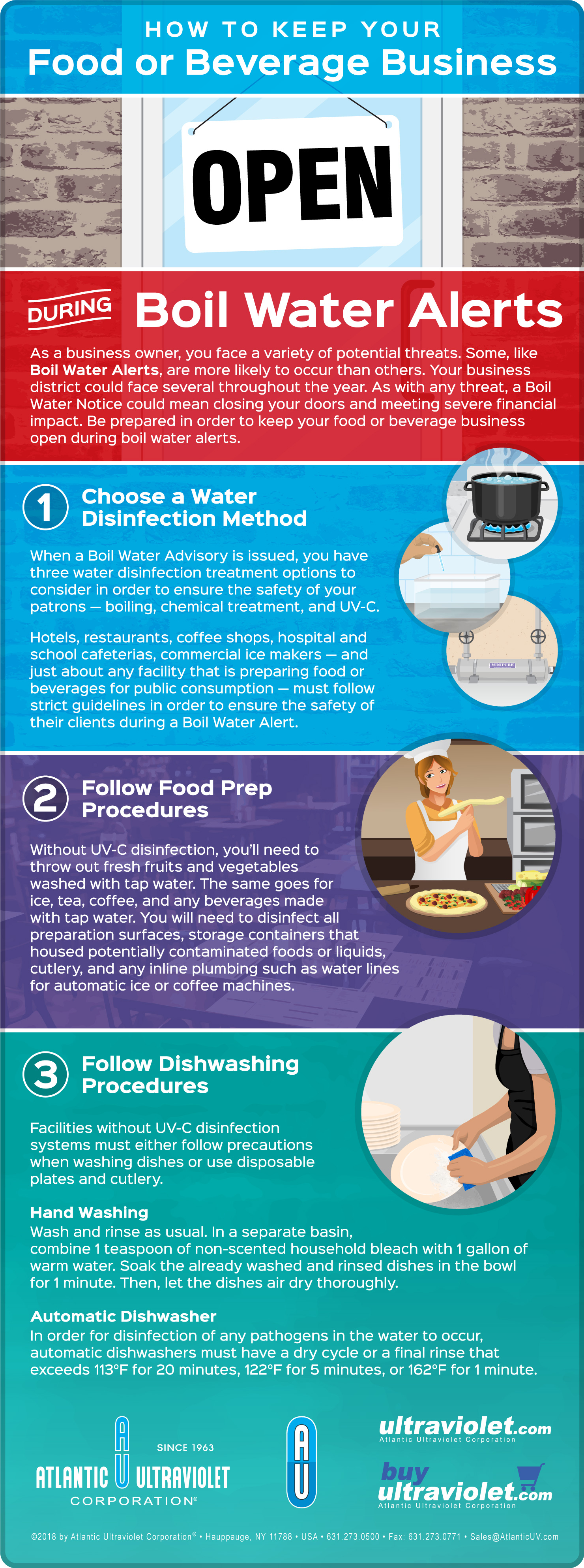 How to Keep Your Business Open During Boil Water Alerts - Infographic