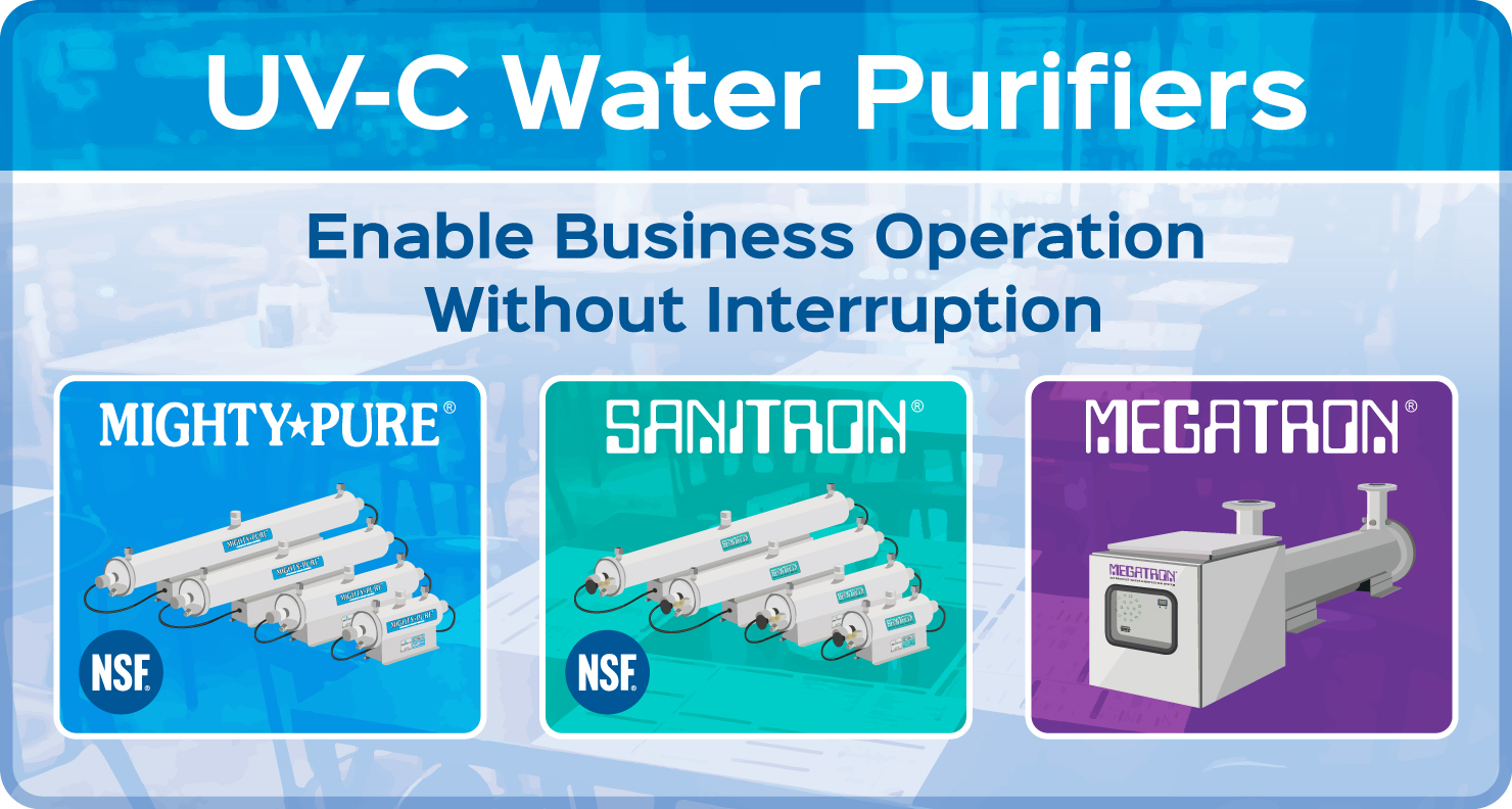 UV-C Water Purifiers Enable Business Operation Without Interruption