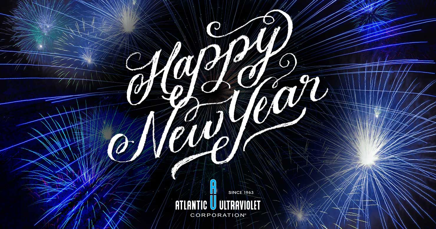 Atlantic Ultraviolet Corporation Wishes You a Happy New Year!