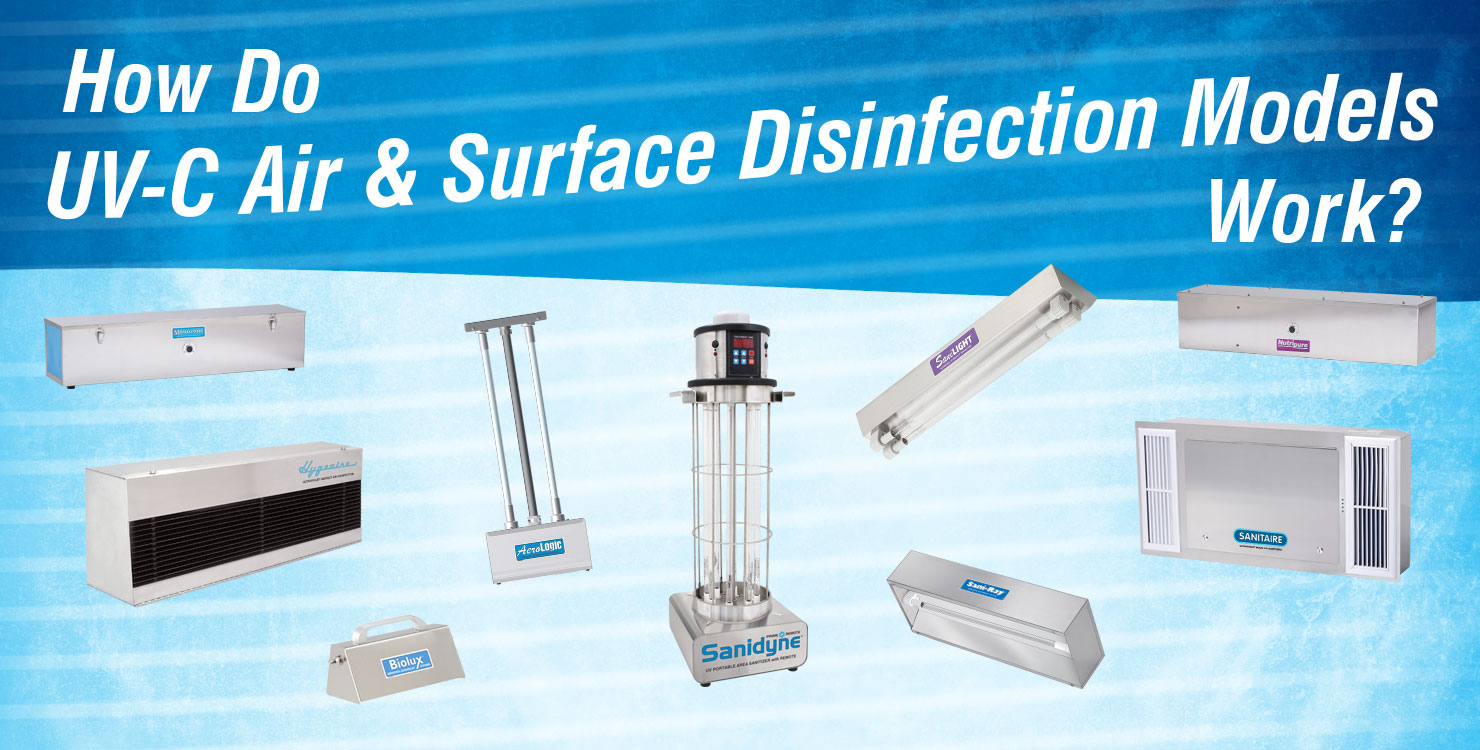 How Do UV-C Air and Surface& Disinfection Models Work?