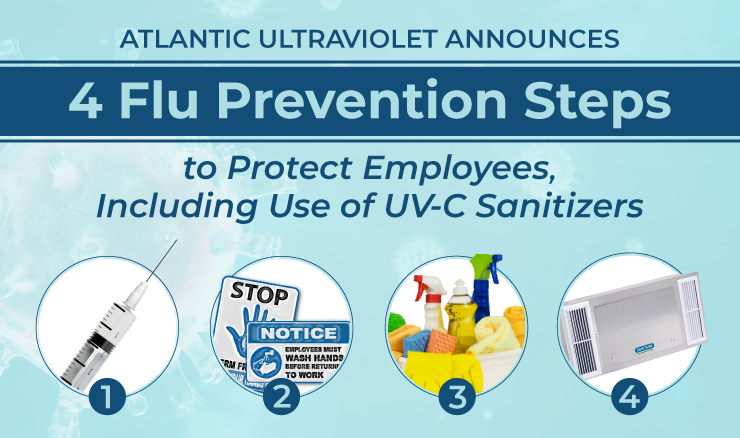 Atlantic Ultraviolet Announces 4 Flu Prevention Steps to Protect Employees