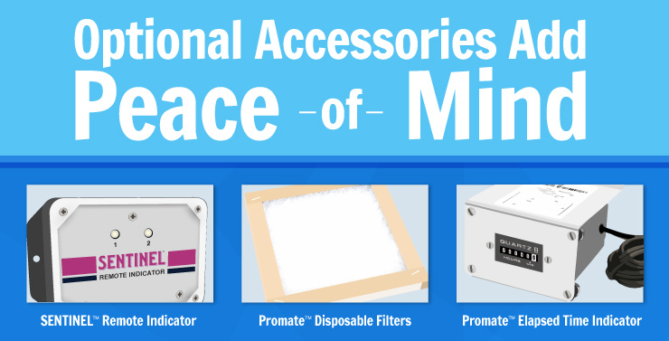 Optional Accessories add Peace of Mind