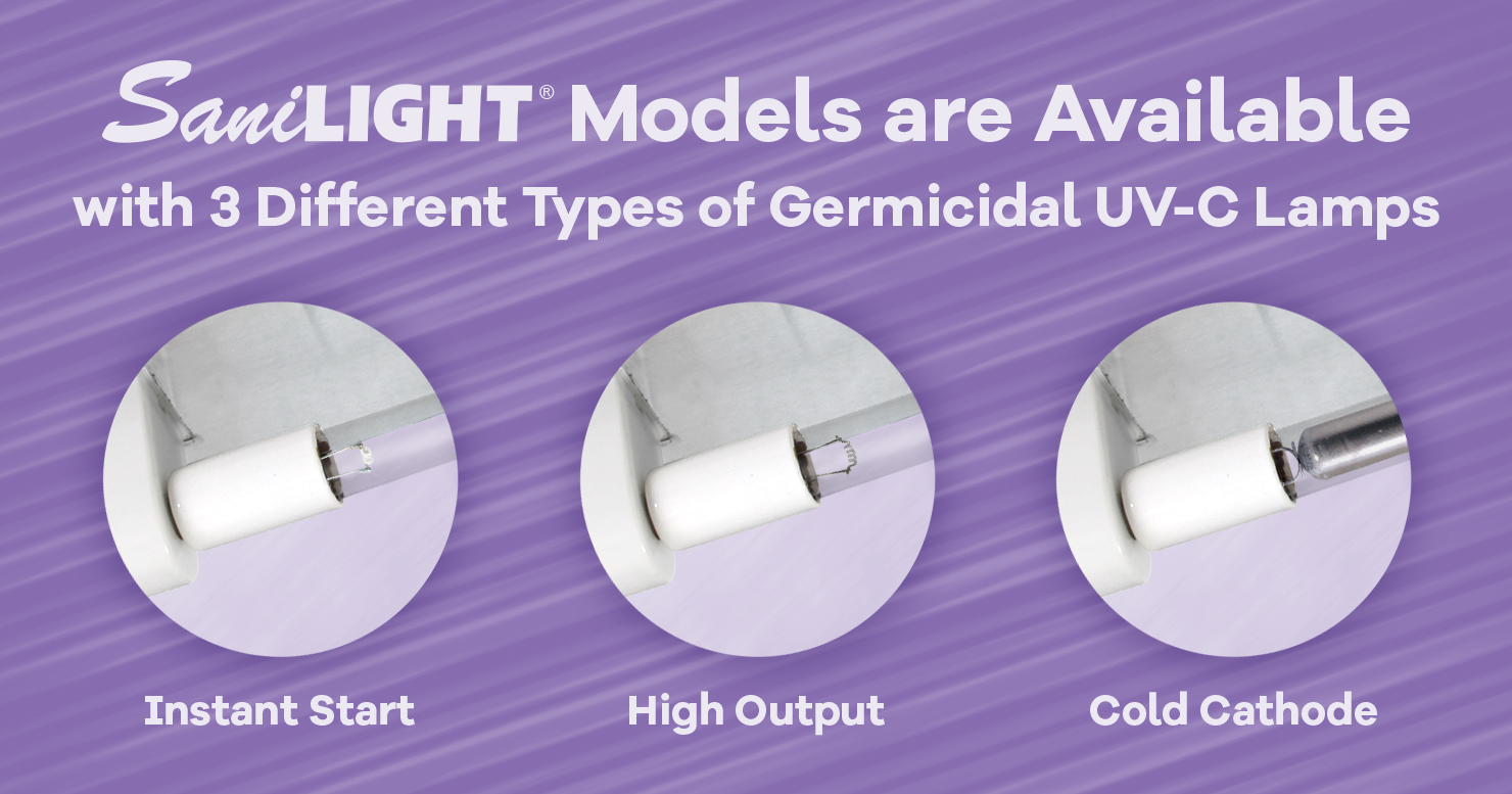 4 Integrated Features Make the SaniLIGHT an Economical & Easy-to-Maintain Solution for Air & Surface Disinfection