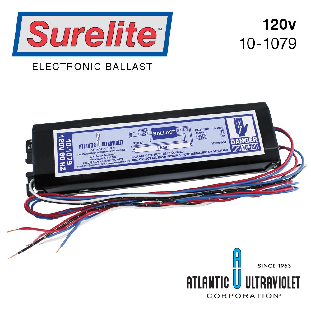 Surelite Electronic Ballasts For UV Lamps | Ultraviolet com