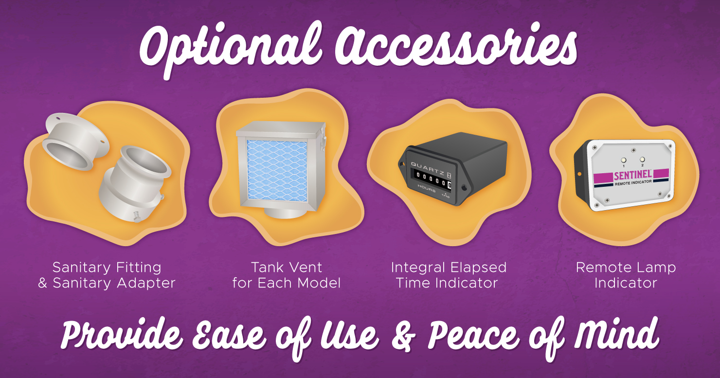 Optional Nutripure Accessories Provide Ease of Use and Peace of Mind