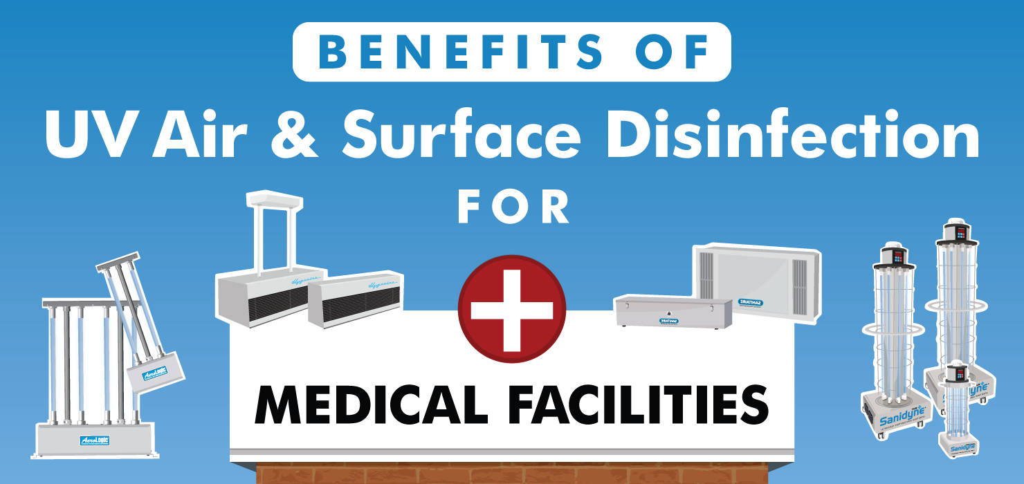 Benefits of UV Air & Surface Disinfection for Medical Facilities