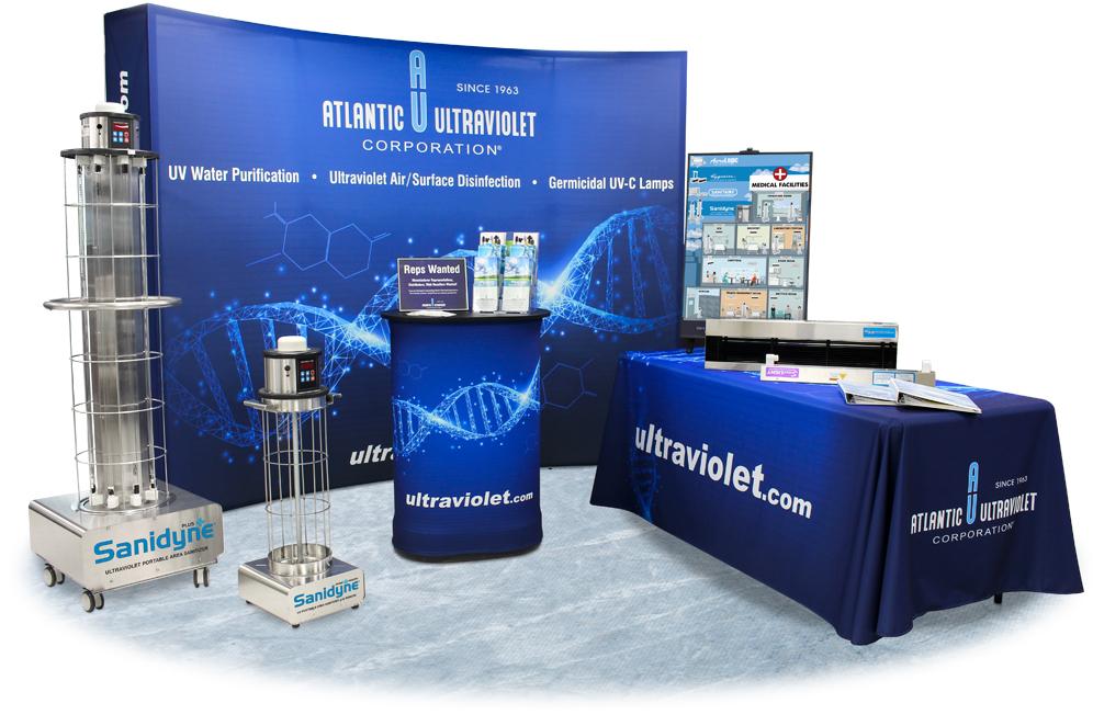 Atlantic Ultraviolet FIME Show Booth